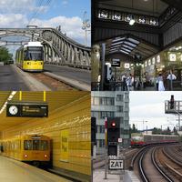 További berlini tömegközlekedési életképek 2012 augusztusából