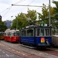 Magyar villamosok Amszterdamban