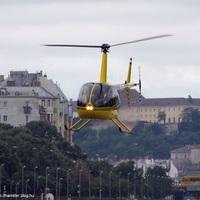 Helikopteres csúcsforgalom a rakparton