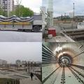 A négyes metró építésének pillanatai
