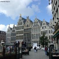 Antwerpen, csak úgy