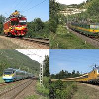 Vonatok a Vág völgyében