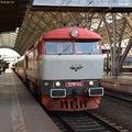 Bögyös mozdonyok a prágai főpályaudvaron