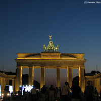 Berlin napnyugta után: öt kép