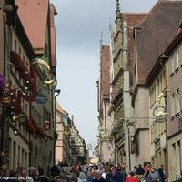 Rothenburg ob der Tauber - az ittfelejtődött középkori város