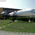 Az Il-18-as, Bécs felé félúton