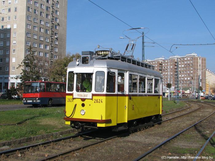 Az Európa-járó villamos napvilágot lát - HamPLÓ