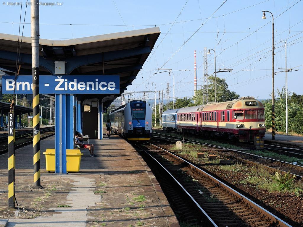 Amíg megjött a vonat: Brno-Židenice
