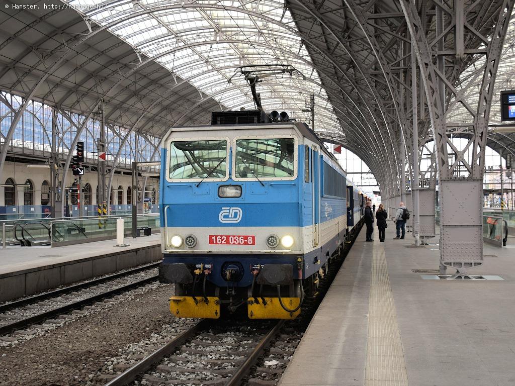 Peronportya a prágai főpályaudvaron