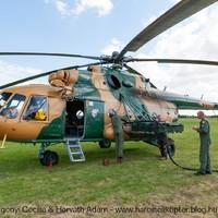 Budaörsről végez felderítő repülést az MH 86 Szolnok Helikopter Bázis szállító helikoptere a Hableány turistahajó katasztrófája után - 2019.06.02.