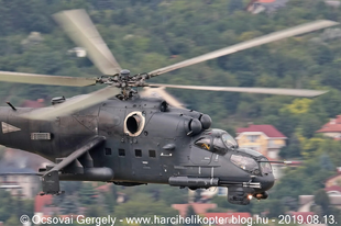 Mi-24, Mi-17 és AS-350 helikopterek gyakorló repülése a Duna felett az augusztus 20-ai légi díszelgés jegyében  2019.08.13.