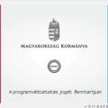 A programváltoztatás jogát fenntartjuk! (Magyarország Kormánya)