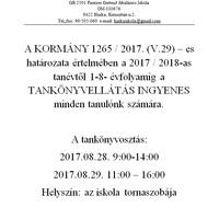 KÖZLEMÉNY 2017.08.