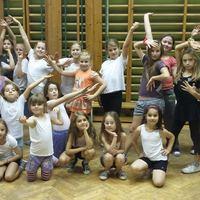 Az iskolai tánccsapat