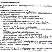 Értesítés - Elsősök beíratásával kapcsolatos tudnivalók 2014