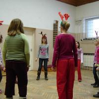 4. osztályosok karácsonykor