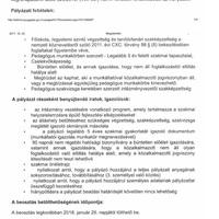 INTÉZMÉNYVEZETŐI PÁLYÁZAT 2017.10.