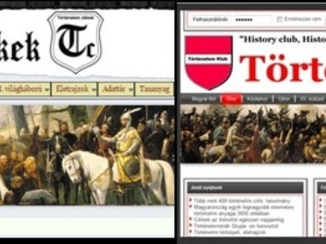 Történelem cikkek és Jegyzettár