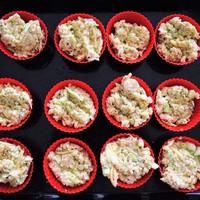 Receptrovat: Sütőben sült sajtos-zabpelyhes cukkinifasírt