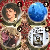 Harry Potter Crystal Ball Játék