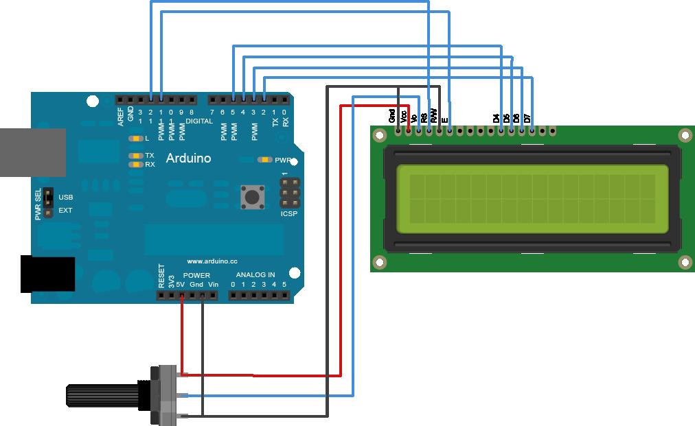 14.2. †bra LCD kijelzã Arduinohoz kapcsol†sa.png