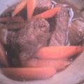 Karamellizált sertéshús