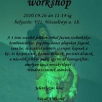 Novák Viktória workshop