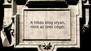 Magyar tanácsadói blogot írók 5 kerülendő hibája