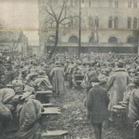 Erőszakhullám a háború befejezése után, 1918 őszén