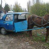 Lóval vontatjuk a Daciát