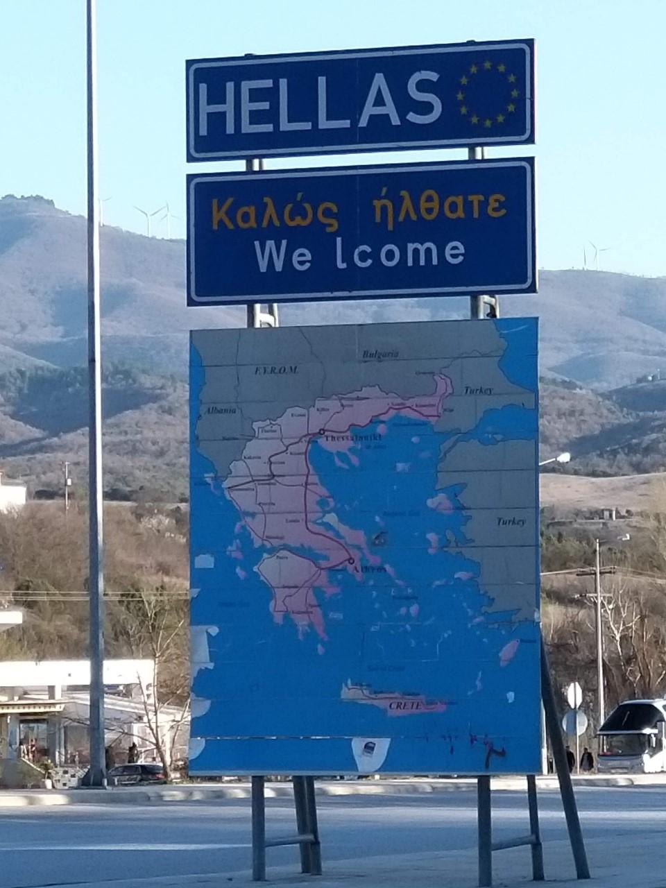A görög határ
