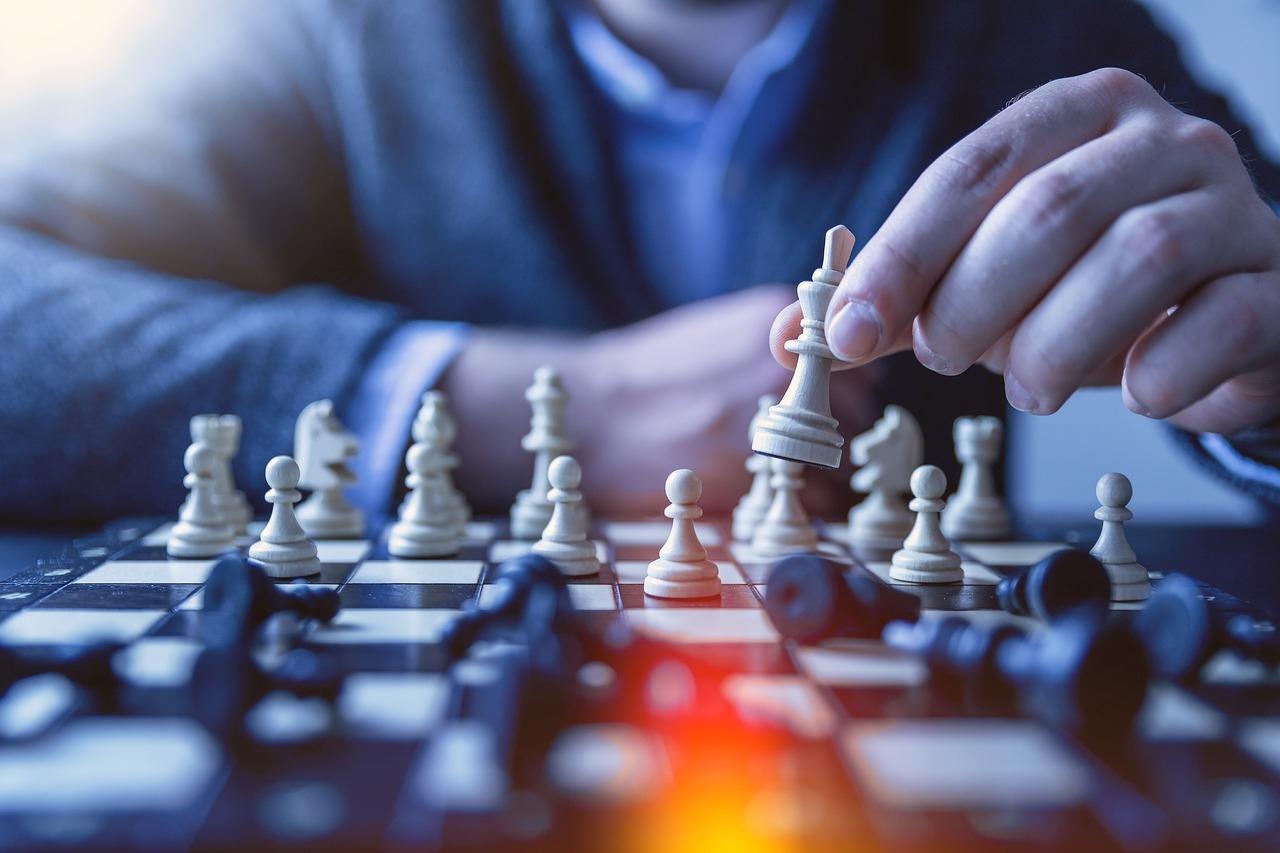 látvány a sakkban