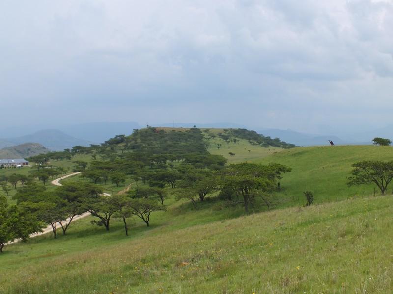 kilátás a Drakensberg oldaláról.JPG
