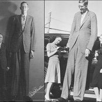Ma 75 éve,hogy meghalt a világ valaha élt legmagasabb embere