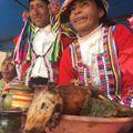 Quieres Cuy? :) Do you want Guinea pig? Kérsz tengerimalacot? #hatizsakosbandukolas #backpacking #peru #pitumarca #traditional_food #quechua #fiesta