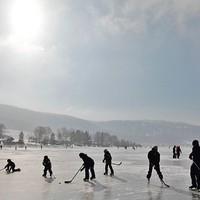 Veszélyben a kanadai jégpályák