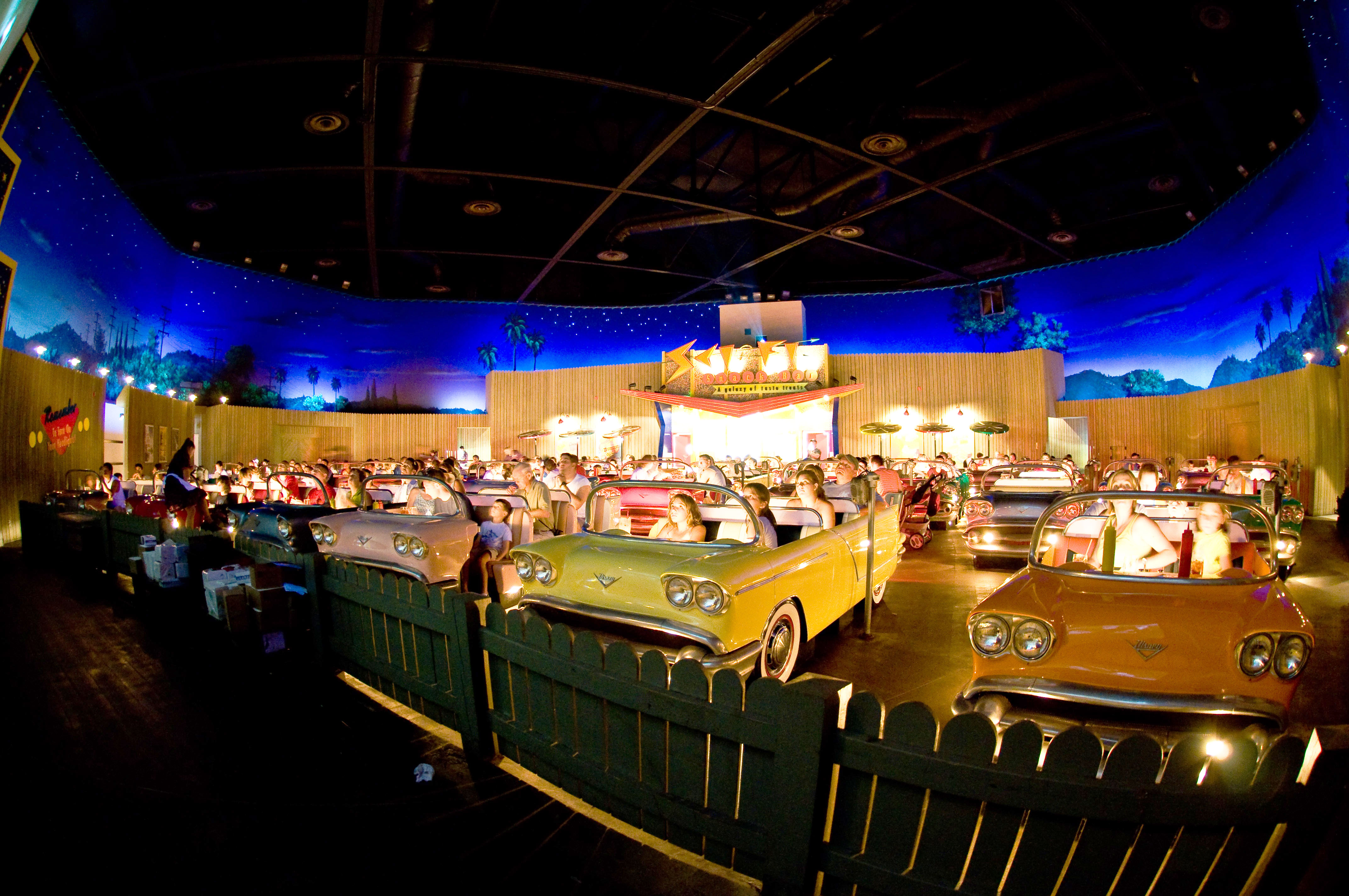 Sci-fi Dine-in Theater (Disney's Hollywood Studios, USA)