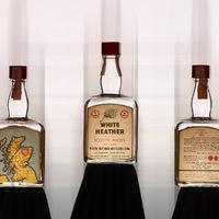Régi whiskysüvegek