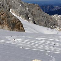 Dachstein - napsütés és hó 3000 méteren