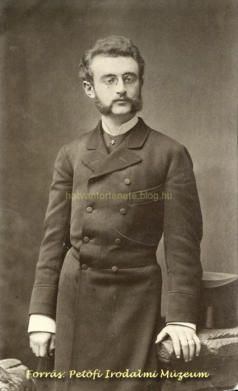 Sándor ifjúkorában (1870-es évek)