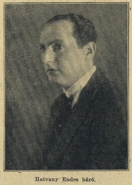 Hatvany Endre, a két világháború között a hatvani cukorgyár vezetője, illetve a Paradicsomkonzerv-gyár megalapítója.