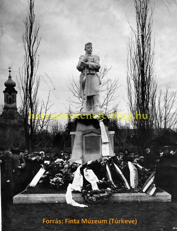 Az Őrszem avatási ünnepsége. Hatvan, 1917. november 25.