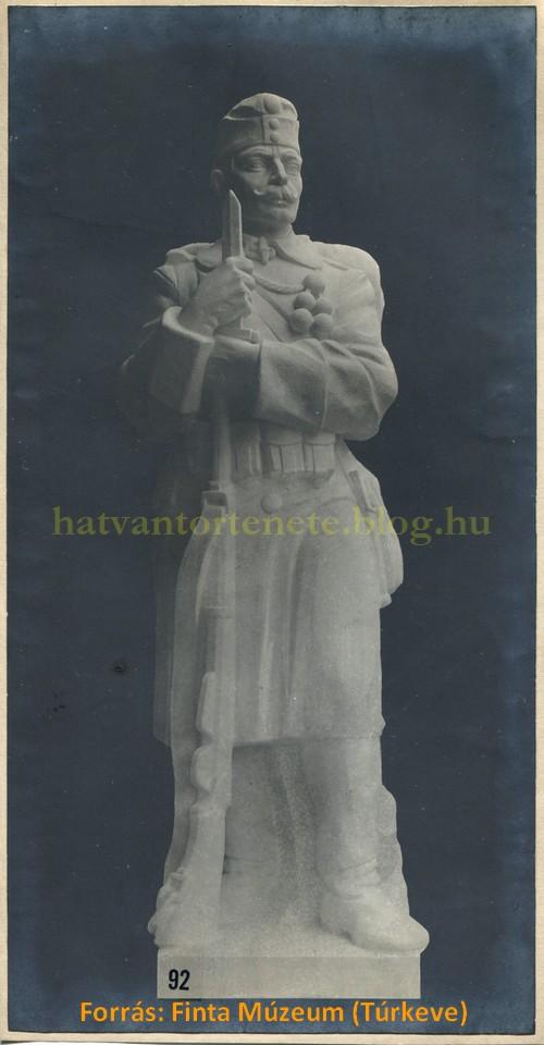 Makett az Őrszemről, 1917.