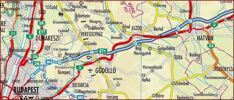 hatvan térkép Az a bizonyos 60 km   Hatvan története hatvan térkép