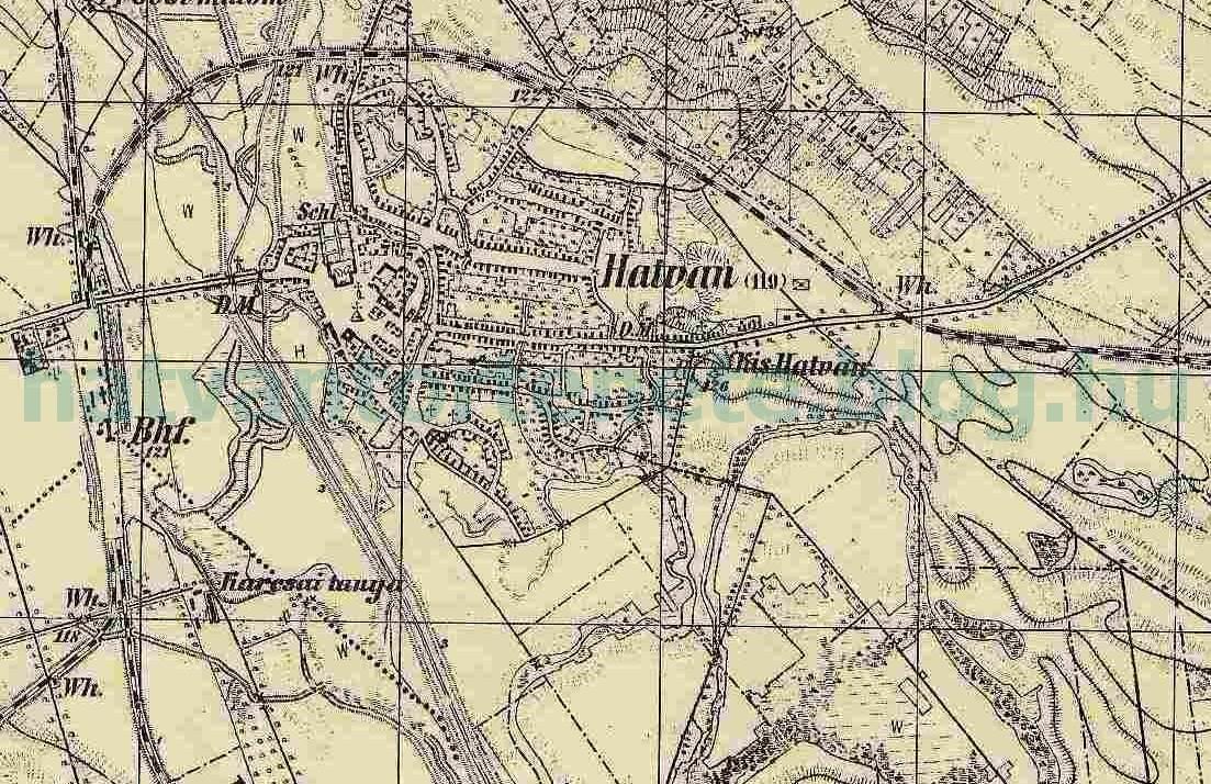hatvan térkép A vasút nagy kanyarja   Hatvan története hatvan térkép