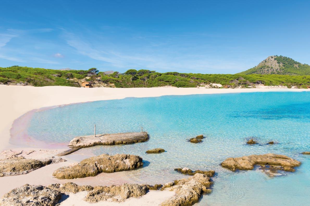 Európa 12 legkedveltebb tengerpartja - Cala Agulla Beach, Mallorca, Spanyolország