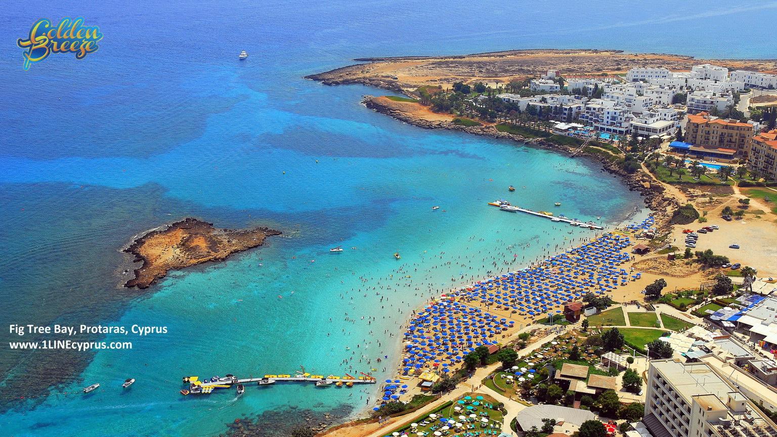Európa 12 legkedveltebb tengerpartja - Fig Tree Bay, Protaras, Ciprus