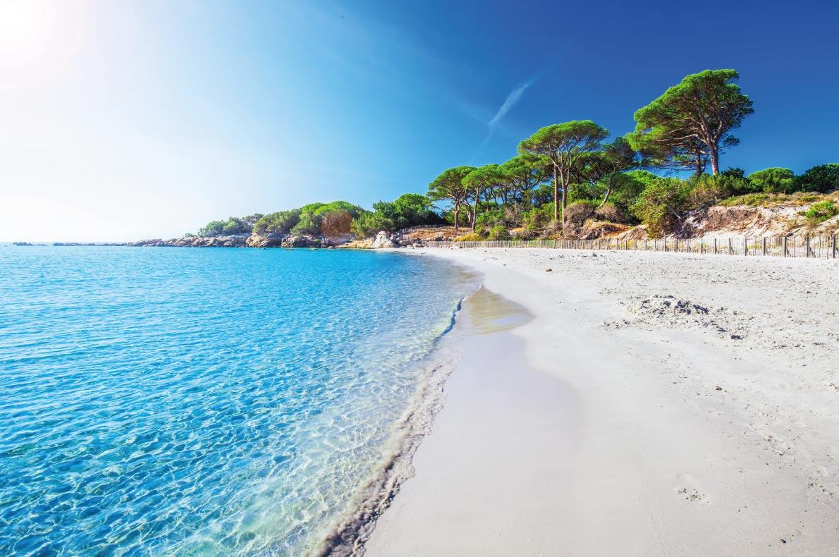 Európa 12 legkedveltebb tengerpartja - Palombaggia Beach, Porto-Vecchio, Korzika