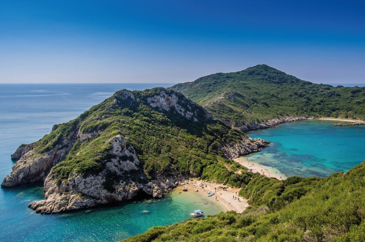 Európa 12 legkedveltebb tengerpartja - Porto Timoni Beach, Korfu, Görögország