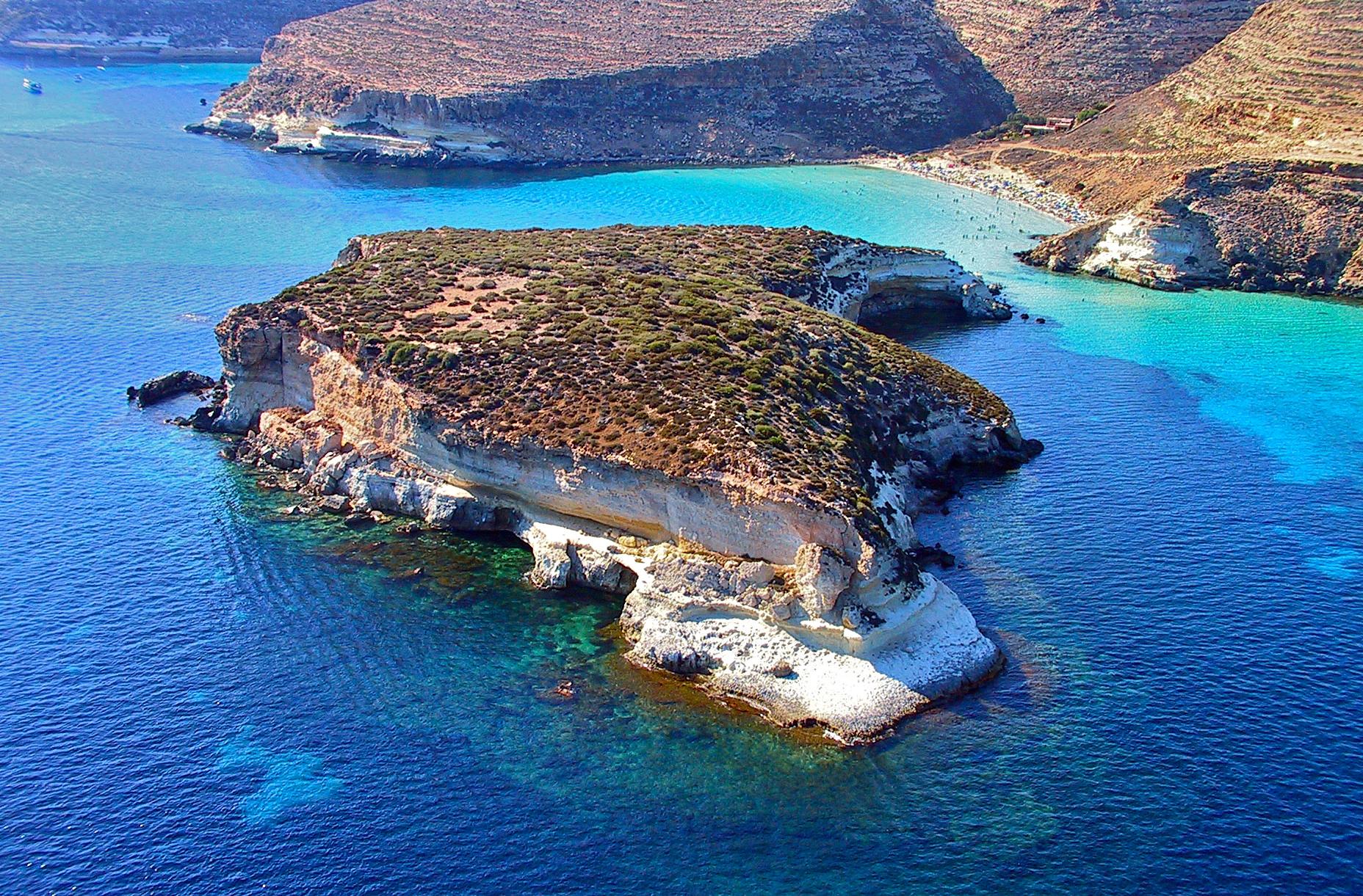 Európa 12 legkedveltebb tengerpartja - SSpiaggia del Conigli, Lampedusa, Szicília